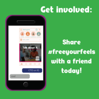 National Suicide Prevention Week- FreeYourFeels campaign
